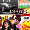 Diams NightClub Agenda Flyer