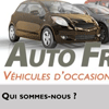 AutoFriends Ad Flyer